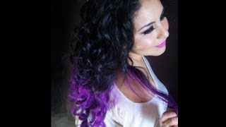 getlinkyoutube.com-Mechas Californianas/Ombré Hair - SIN TINTE!!|anabellannagrey ♥