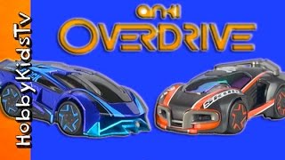 getlinkyoutube.com-Anki OverDrive Race Track! CARS Magnetic + App, Toy Review HobbyKidsTV