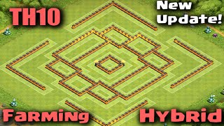 getlinkyoutube.com-Clash of Clans - TownHall10 Farming/Hybrid Base Perfect Loot Balance  Defense Strategy for TH10