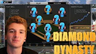 getlinkyoutube.com-MY DIAMOND DYNASTY CLUB TOUR!! 5 LEGENDS?! - MLB The Show 15
