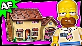 getlinkyoutube.com-Lego SIMPSONS HOUSE 71006 Stop Motion Build Review