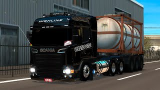 getlinkyoutube.com-Scania Streamline top pra carai!!!! e muito boa de curva! kkk *Euro truck 2*