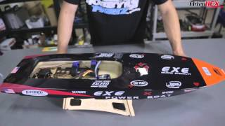 getlinkyoutube.com-Exceed RC Fiberglass Racing Speed Boats