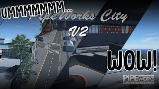 PipeWorks V2 Is Incredible | Pipe By BMX Streets Gameplay width=