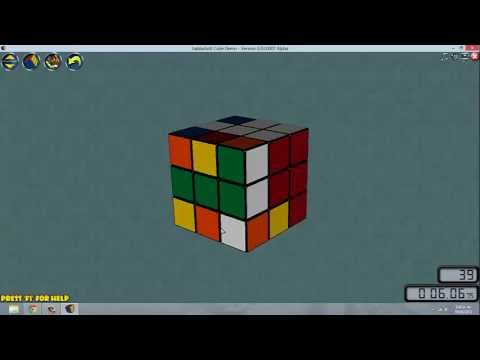 parte1 : Como resolver un Cubo de Rubik 3x3 (paso a paso, Mas fcil)