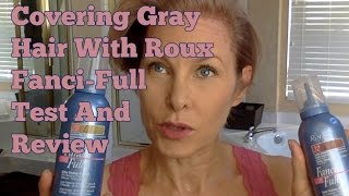 getlinkyoutube.com-Covering Gray Hair (Temporary) With Roux Fanci-Full - Test And Review