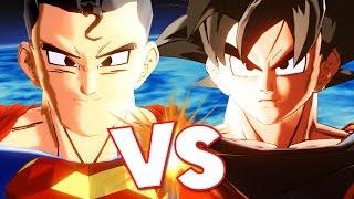 getlinkyoutube.com-SUPERMAN VS GOKU - Dragon Ball Xenoverse Mods
