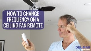 getlinkyoutube.com-How To Change the Frequency On A Ceiling Fan Remote