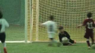 getlinkyoutube.com-Amazing 6 year old soccer goalkeeper!  Dino Bontis