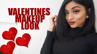 VALENTINES DAY MAKEUP LOOK   LABEAUTYWORLD