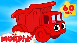 getlinkyoutube.com-My Red Dump Truck (+ 1 hour My Magic Pet Morphle Mega Vehicle compilation for children!)