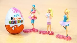 getlinkyoutube.com-Barbie I Can Be ... - Kinder Surprise Egg / Kinder Niespodzianka - www.MegaDyskont.pl