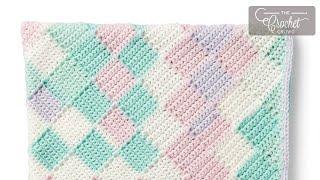 getlinkyoutube.com-How to Crochet: Entrelac