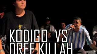 getlinkyoutube.com-BDM Deluxe 2015 / Tercer Lugar / Kodigo vs Dref Killah
