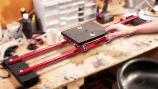 HOW TO: Build a $20 DIY Camera Slider/Dolly! (Parker's Tutorials)