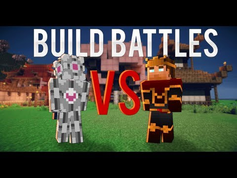 Minecraft Build Battles: Episode 3 - Cauliflowers VS Millsy45