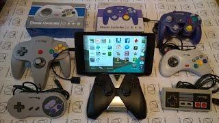 getlinkyoutube.com-NVIDIA SHIELD TABLET и USB джойстики RetroLink