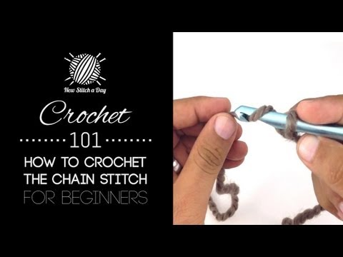Crochet 101: How to Crochet the Chain Stitch for Beginners