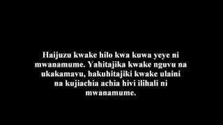 427- Kunyoa Ndevu Ni Kujifananisha Na Wanawake Na Ni Laana - ´Allaamah al-Fawzaan
