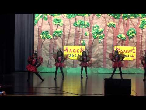 Prashanthini students EAGA Movie dance Performance for TAGCA 2012 in CHARLOTTE,NC
