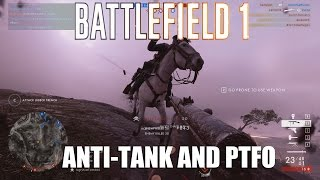 Battlefield 1 - Anti tank and PTFO on Soissons