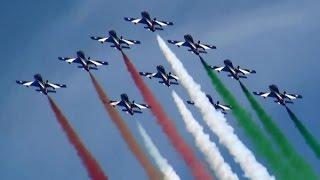 getlinkyoutube.com-RIAT 2014 Frecce Tricolori Italian Air Force The Royal International Air Tattoo