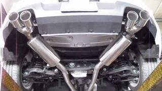 getlinkyoutube.com-Hyundai Genesis Coupe 3.8 Installation of the Stillen True Dual Exhaust and AEM CAI (Before/After)