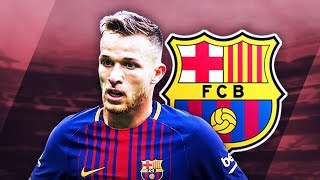ARTHUR - Sublime Skills, Tackles & Passes - 2017 (HD)