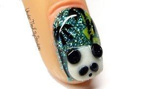 getlinkyoutube.com-Panda Nail Art