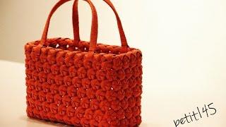 【ハンドメイド】四角い花結びの編み方
