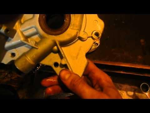 Снятие маслонасоса опель фронтера c20ne