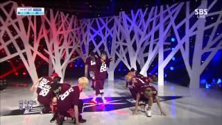 getlinkyoutube.com-[1080p HD] EXO - WOLF @ SBS Inkigayo 130721