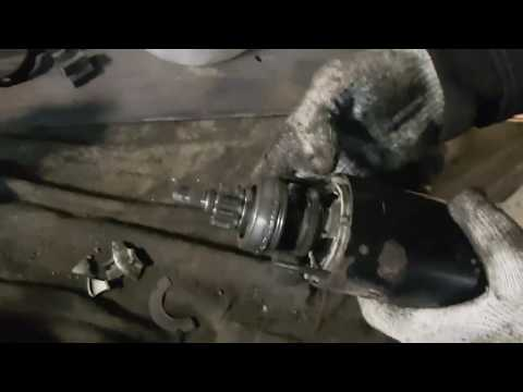 BMW e46: Рассыпался стартер, заклинило коленвал