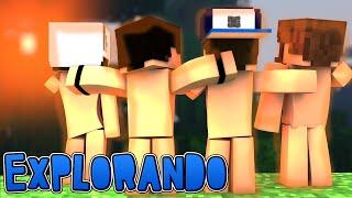getlinkyoutube.com-Minecraft: PELADOS! - #02 EXPLORANDO A ILHA!