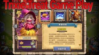 getlinkyoutube.com-Castle Clash Trixie Treat Game Play