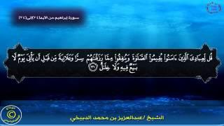 getlinkyoutube.com-ألم تر كيف ضرب الله مثلاً بصوت عبدالعزيز الدبيخي