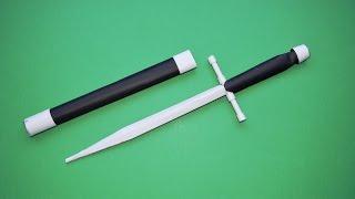 getlinkyoutube.com-Como Hacer un Cuchillo de Papel - Estilete -  Armas Caseras