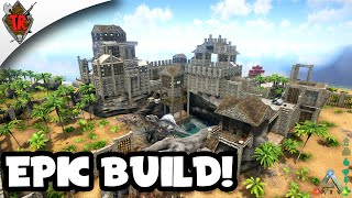 getlinkyoutube.com-ARK Survival Evolved Base Showcase: Epic Castle!