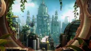 Ratchet & Clank - Metropolis - DreamScene Animated Windows 7 Wallpaper