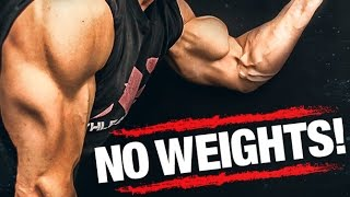getlinkyoutube.com-Arm Workout WITHOUT Weights (BICEPS AND TRICEPS!!)