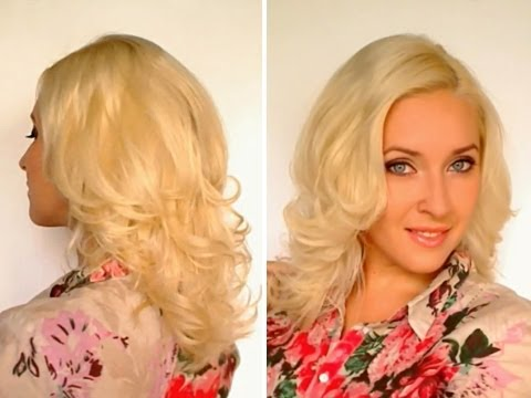 How to curl your hair without heat overnight Rolled bun to add volume to thin straight flat hair