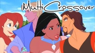 getlinkyoutube.com-::Non/Disney MultiCrossover:: ♥Sinbad/Pocahontas & John Smith/Ariel♥