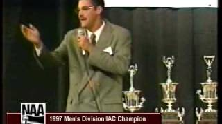 Andy Dunning, 1997 International Auctioneer Champion