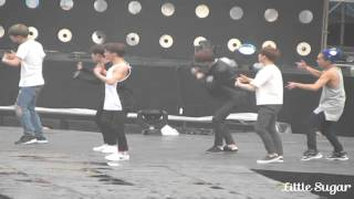 getlinkyoutube.com-[27/03/2015][FANCAM][MUSIC BANK REHEARSAL HANOI] GROWL- EXO