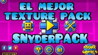 getlinkyoutube.com-El MEJOR TEXTURE PACK DE GEOMETRY DASH - SNYDERPACK!!!!