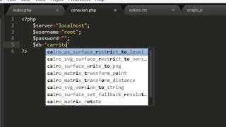 getlinkyoutube.com-Crear Carrito de Compras Parte 1 con PHP, MySQL, HTML5, JQuery