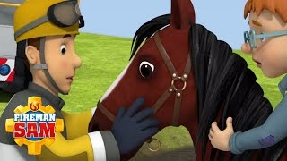 getlinkyoutube.com-🚒 🔥  Fireman Sam US Official: 🚒 🔥 🐎 Season 10  - Runaway Horse 🐎 🚒 🔥  163