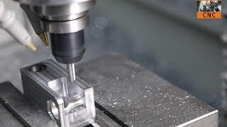 getlinkyoutube.com-CNC Machining Steel Bracket with Tormach PCNC Mill - MFG@Home!