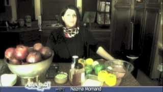 getlinkyoutube.com-Ashpazkhana - Cooking with Nazema Momand - Turkey Dolma دولمه ترکی فيل مرغ