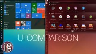 getlinkyoutube.com-Windows 10 vs Linux | UI Comparison